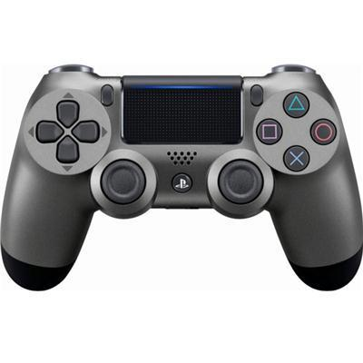 Sony PlayStation-Dualshock4 Ctrlr Steel Blk Ps4