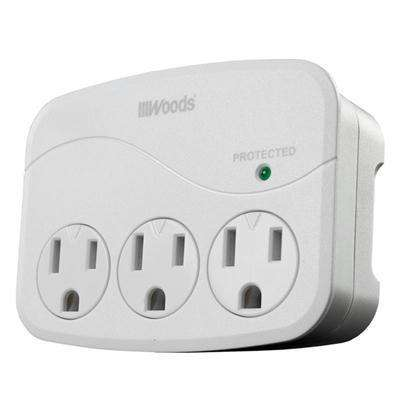 Ww USB Charger Surge 4 Outlet