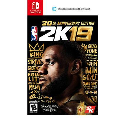 Nba 2k19 20th Annvrsry Ed Nsw
