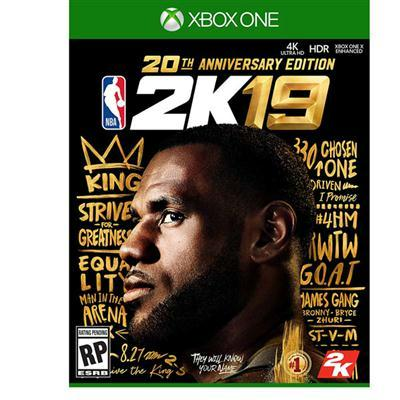 Nba 2k19 20th Annvrsry Ed Xb1