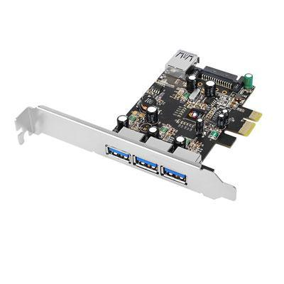 Dp 4 Port USB 3.0 Pcie Ie Vl