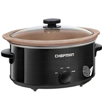 Slow Cooker Nat Stoneware 5qt