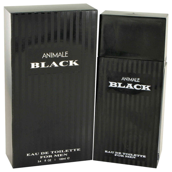 Animale Black by Animale Eau De Toilette Spray 3.4 oz for Men