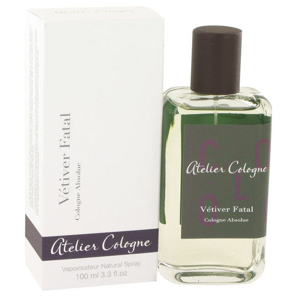 Vetiver Fatal by Atelier Cologne Pure Perfume Spray 3.3 oz for Men