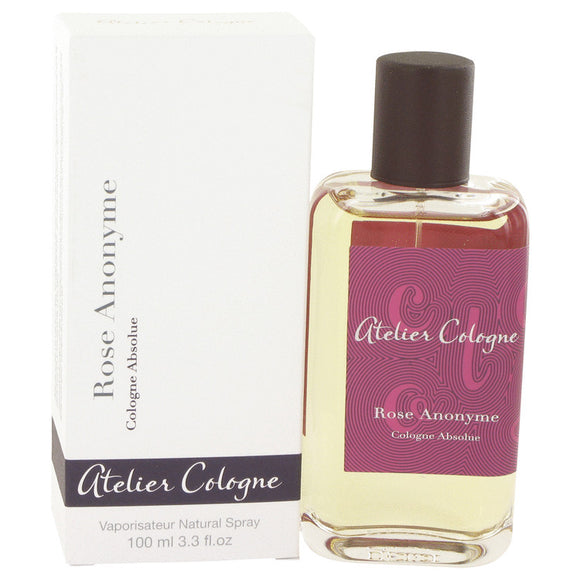 Rose Anonyme by Atelier Cologne Pure Perfume Spray (Unisex) 3.3 oz for Women