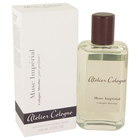 Musc Imperial by Atelier Cologne Pure Perfume Spray (Unisex) 3.3 oz for Women