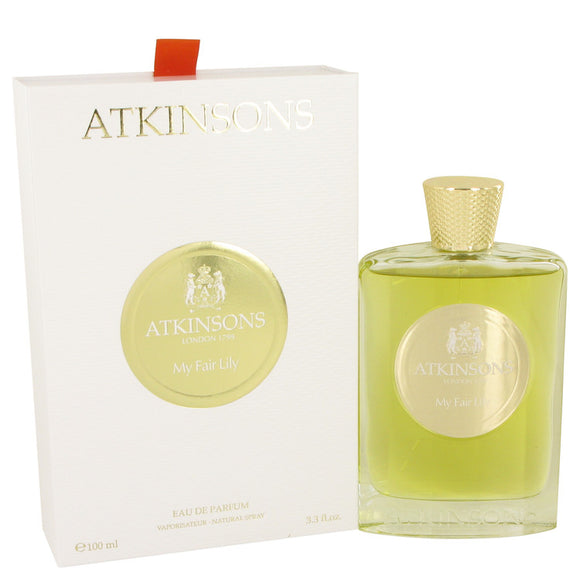 My Fair Lily by Atkinsons Eau De Parfum Spray (Unisex) 3.3 oz for Women