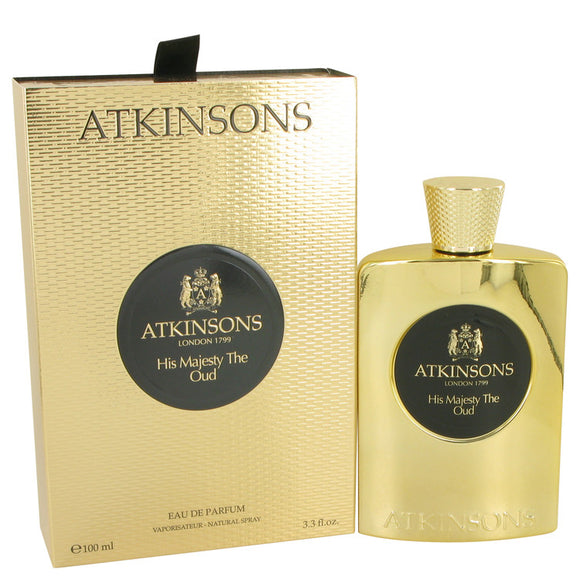 His Majesty The Oud by Atkinsons Eau De Parfum Spray 3.3 oz for Men