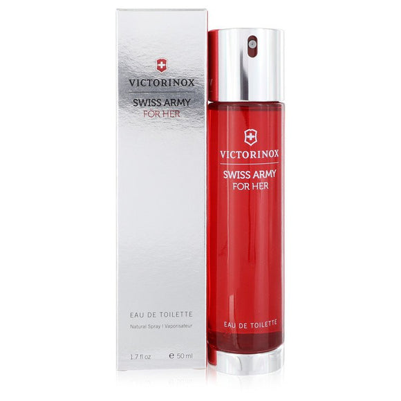 SWISS ARMY by Victorinox Eau De Toilette Spray 1.7 oz for Women