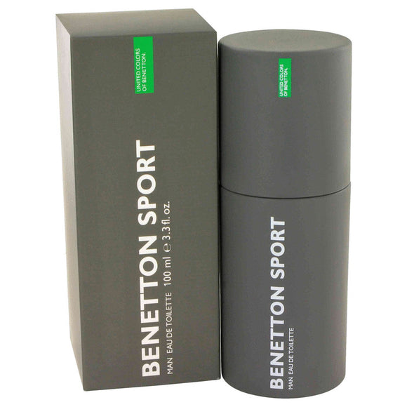 BENETTON SPORT by Benetton Eau De Toilette Spray 3.3 oz for Men
