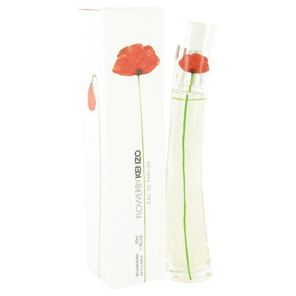 kenzo FLOWER by Kenzo Eau De Parfum Spray Refillable 1.7 oz for Women