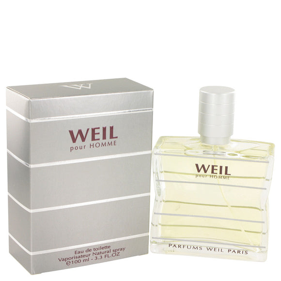 Weil Pour Homme by Weil Eau De Toilette Spray for Men