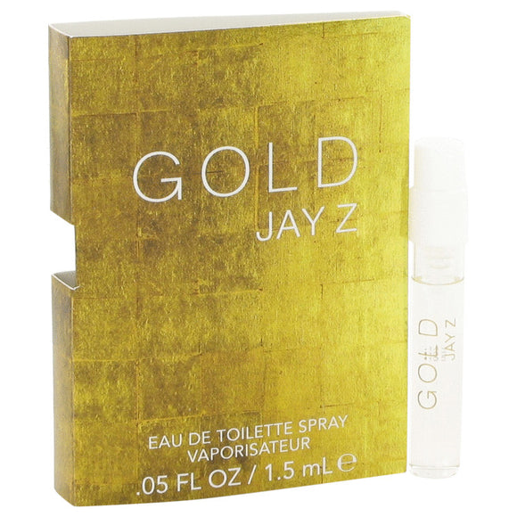 Gold Jay Z by Jay-Z Vial (sample) .05 oz for Men