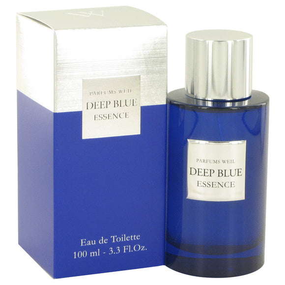 Deep Blue Essence by Weil Eau De Toilette Spray 3.3 oz for Men