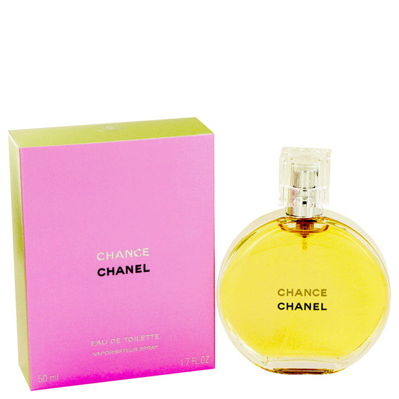Chance by Chanel Eau De Toilette Spray 1.7 oz for Women