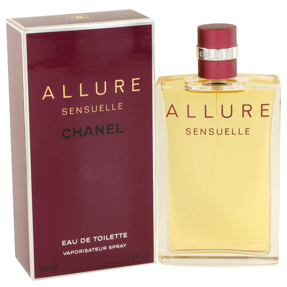 Allure Sensuelle by Chanel Eau De Toilette Spray 3.4 oz for Women