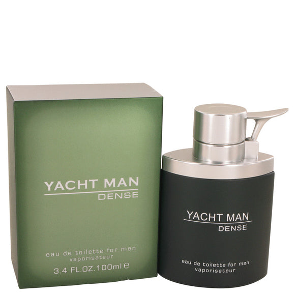 Yacht Man Dense by Myrurgia Eau De Toilette Spray 3.4 oz for Men