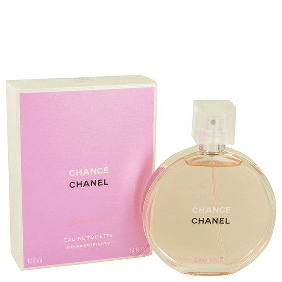 Chance Eau Vive by Chanel Eau De Toilette Spray for Women
