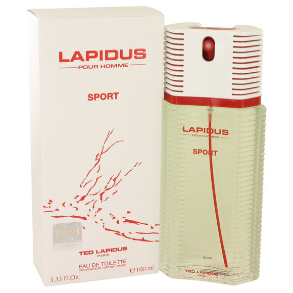 Lapidus Pour Homme Sport by Lapidus Eau De Toilette Spray 3.33 oz for Men