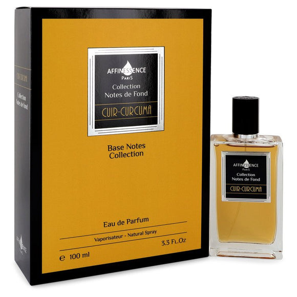 Cuir Curcuma by Affinessence Eau De Parfum Spray (Unisex) 3.4 oz for Women