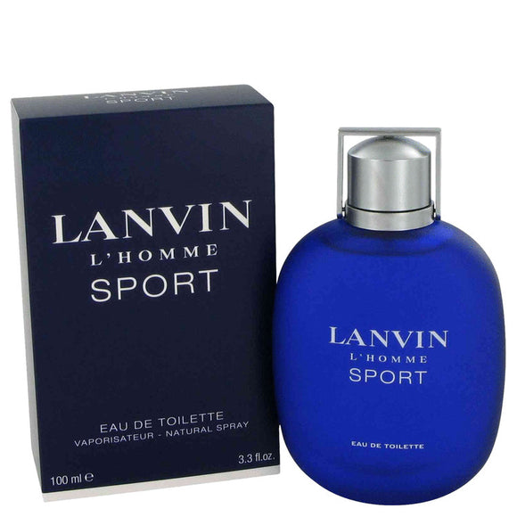 Lanvin L'homme Sport by Lanvin Eau De Toilette Spray (unboxed) 3.3 oz for Men