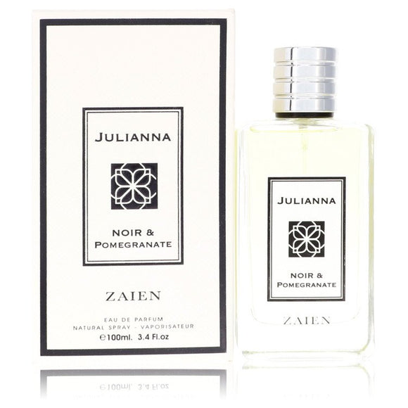 Julianna Noir & Pomegranate by Zaien Eau De Parfum Spray (Unisex) 3.4 oz for Women