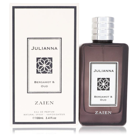 Julianna Bergamot & Oud by Zaien Eau De Parfum Spray (Unisex) 3.4 oz for Women