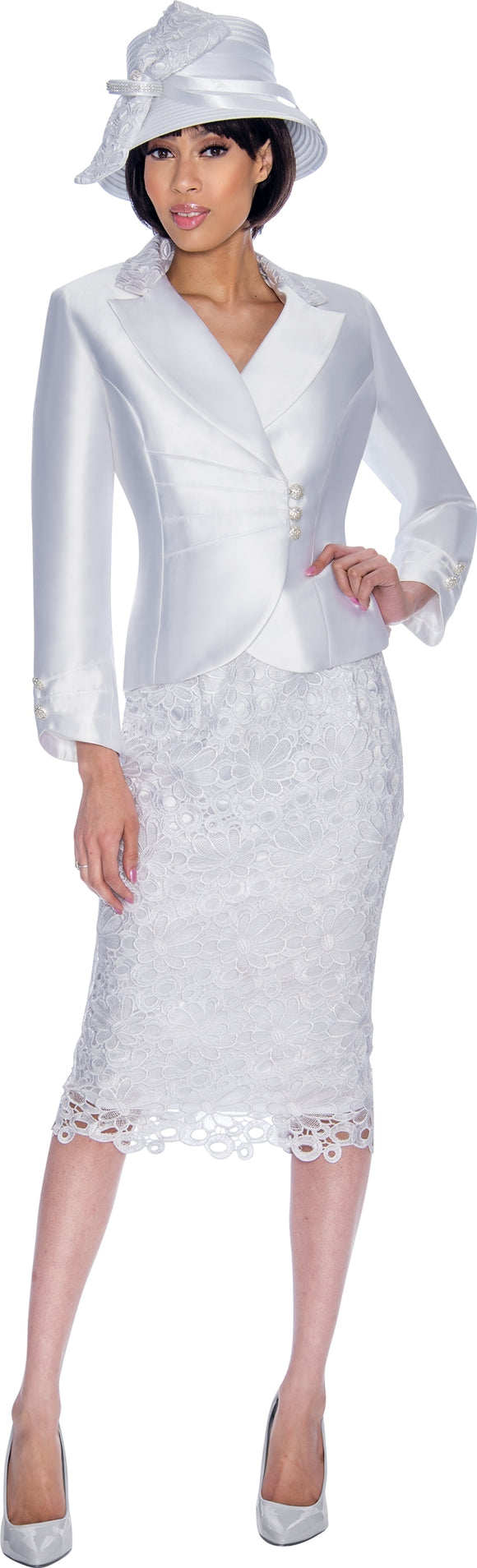 GMI 6923W Tiered Sleeve PlusSize Suit