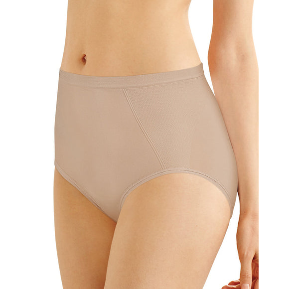 bali seamless brief with tummy panel ultra control 2 pack