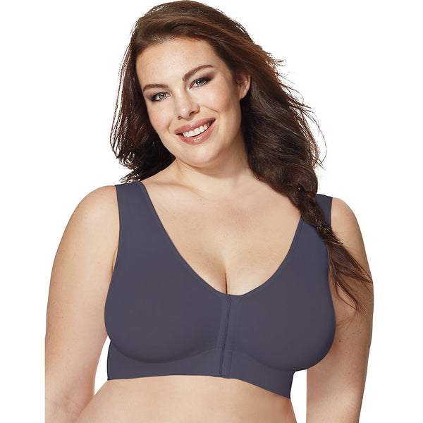 Just My Size Pure Comfort® Front-Close Wirefree Bra