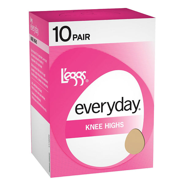 L'eggs Everyday Knee Highs RT 10 Pair