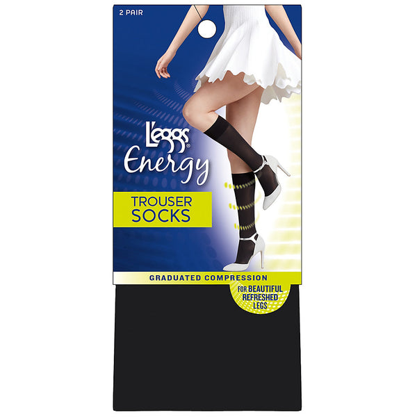 L'eggs® Energy Collection Trouser Socks 2-Pack