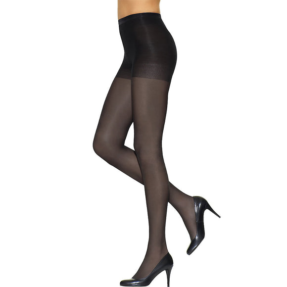 L'eggs Silken Mist Control Top Semi-Opaque Leg, Enhanced Toe Pantyhose