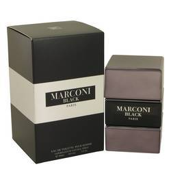 Marconi Black Eau De Toilette Spray By Prestige