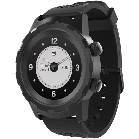 3plus 3pl hybrid bk cruz hybrid watch