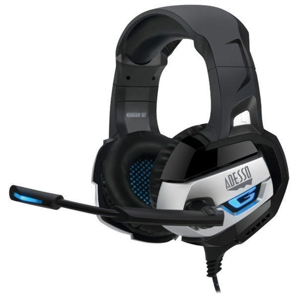 adesso xtream g2 xtream g2 stereo usb gaming headset with microphone
