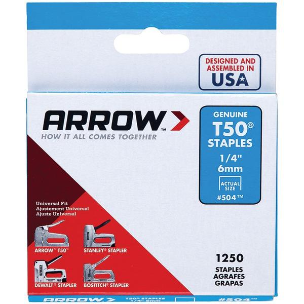 arrowr 50424 t50r staples 1 250 pk 1 4