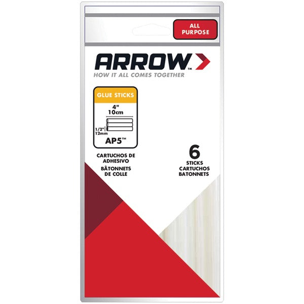 arrowr ap5 ap5 all purpose glue sticks 12 pk