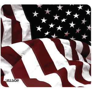 allsoptm 29302 old fashioned american flag mouse pad