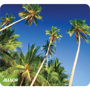 allsoptm 31427 naturesmart mouse pad palm trees