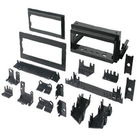 "Best Kits and Harnesses(R) BKGM4 In-Dash Installation Kit (GM(R) Universal 1982-2004 with Factory Brackets & Flat, .5"" & 1"" Trim Plates Single-DIN)"