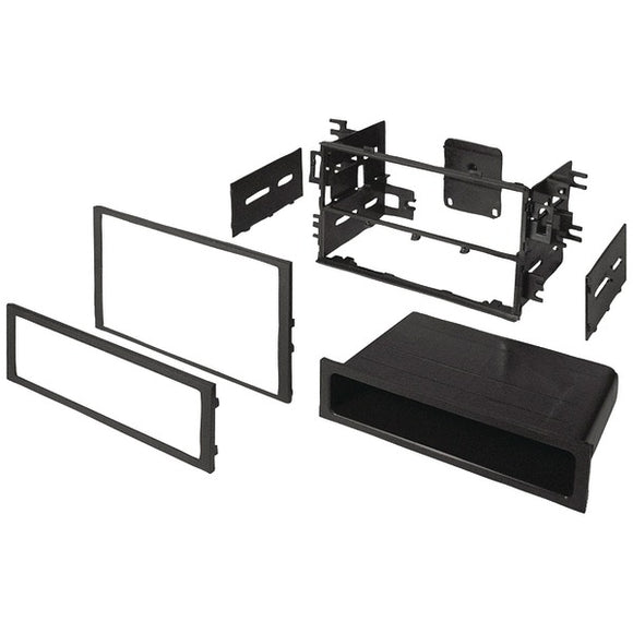 Best Kits and Harnesses BKHONK830 In-Dash Installation Kit (Honda-Acura 1990-2006 double-DIN-Single-DIN with Pocket)