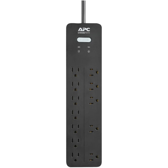 apc ph12 12 outlet surgearrest home office series surge protector 6ft cord