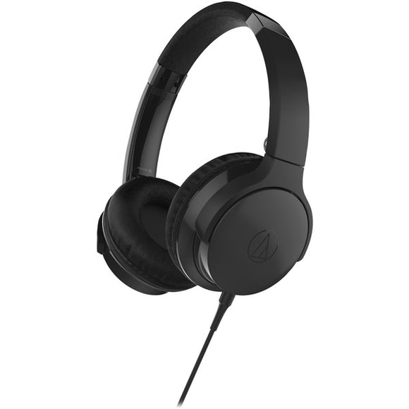 audio technica ath ar3isbk sonicfuel ath ar3is on ear headphones with microphone black