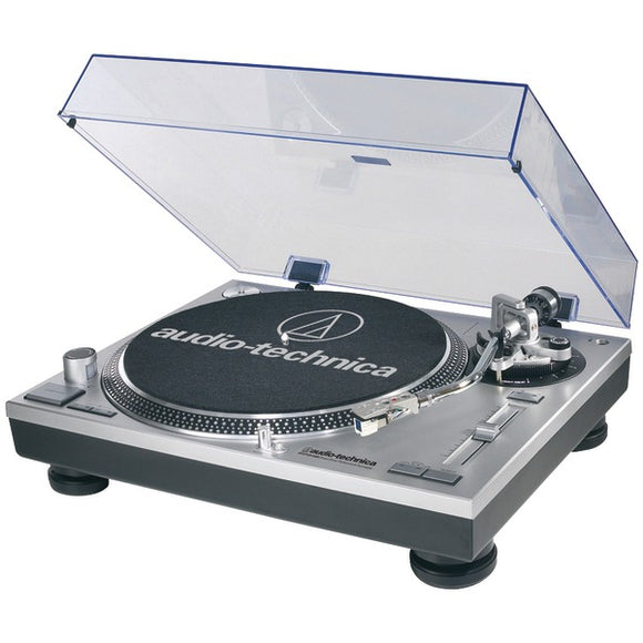audio technica at lp120 usb direct drive professional usb analog stereo turntable silver