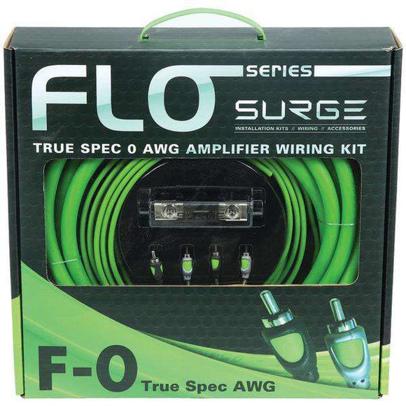 Surge F-0 Flo Series Amp Installation Kit (0 Gauge, 5,000 Watts)