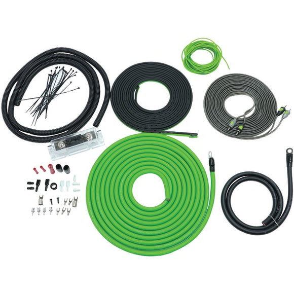 Flo Series Amp Installation Kit (4 Gauge, 2,000 Watts)