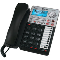 at tr 17939 2 line corded speakerphone with caller id digital answering system