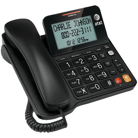 AT&T(R) ATCL2940 Corded Speakerphone with Large Display