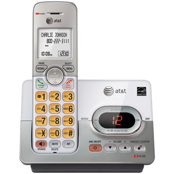 at t attel52103 dect 6 0 cordless answering system with caller id call waiting